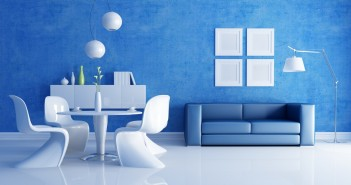 Blue & White Space