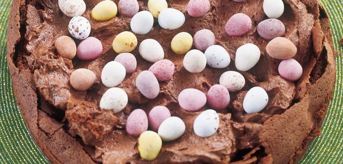 Nigella Lawson Easter Egg Nest Cake